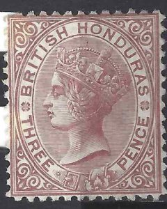 British Honduras 1872 SC 5 Mint SCV$ 180.00