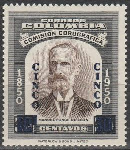 Colombia #690  MNH (S9577)