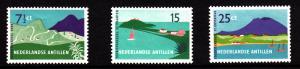 Netherlands Antilles MNH Scott #237-#239 Set of 3 Saba, St. Maarten, Eustatiu...