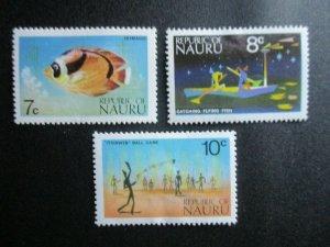 Nauru, Scott#96-98, MH