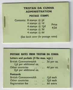 Tristan da Cunha booklet MNH VF
