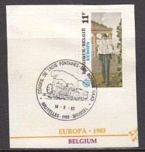 Belgium, Sc 1144 (1), Used, 1983, EUROPA