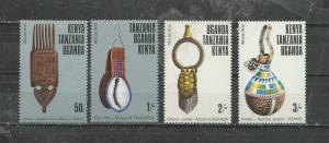 Kenya MNH 304-7 Wooden Comb Earring Gourd Armlet