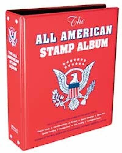 New Minkus The All-American Stamp Album 2-Post Binder