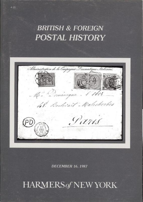 HR Harmer: Sale # 2800  -  British & Foreign Postal Histo...