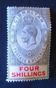Gibraltar #73 Mint Hinged- (AZ8) WDWPhilatelic! 2