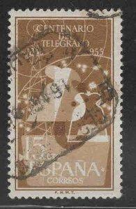 SPAIN Scott 839 Used stamp