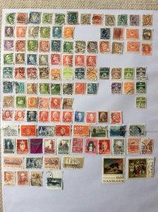 Denmark 100+ stamps - Lot C