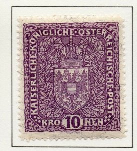 Austria 1916 Early Issue Fine Mint Hinged 10K. NW-38054
