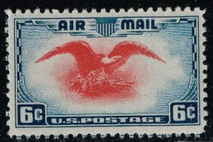 US STAMP #C23 – 1938 6c Airmail Eagle MNH/OG