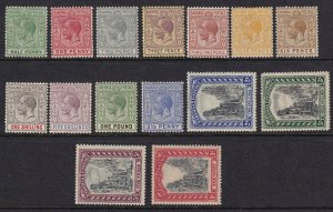 Bahamas 1921-1934 SC 70-84 Mint SCV $398.20 Set