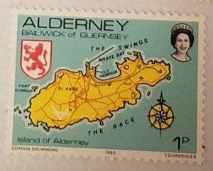 Great Britain Alderney 1