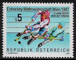 Austria #1390 MNH Stamp - Ice Hockey