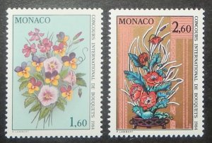 Monaco 1392-93. 1983 International Flower Show, NH