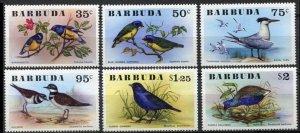 1976 Barbuda 261-266 Birds 14,00 €