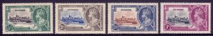 St. Lucia - Scott #91-94 - MH - Gum toning, toning spot UR #94 - SCV $16