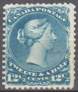 Canada #28 Mint F-VF Large Queen $1000.00