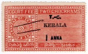 (I.B) India Revenue : Kerala Court Fee 1a on 2c OP