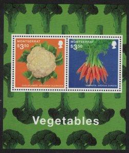 Montserrat Cauliflower Carrots Vegetables MS 2014 MNH SG#MS1560