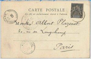 45178  SENEGAL  Sdan -  POSTAL HISTORY: POSTCARD of Saldé  sent from Foundiougne