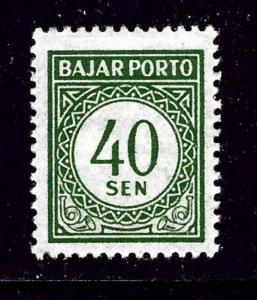 Indonesia J72 MH 1953 issue