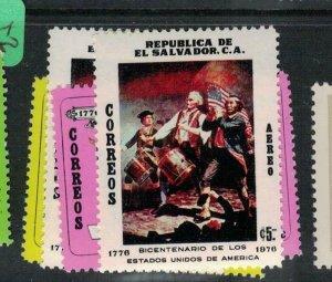 El Salvador SC 870-1, C383-4 MNH (9ecq)