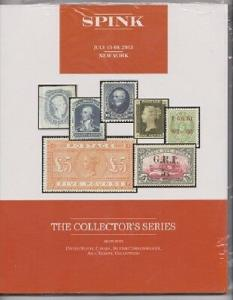 Spink July 2015 Collector's Series Stamp Auction Catalogue - NEW