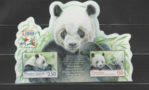 PITCAIRN ISLANDS Queen Elizabeth Era 2009 23rd Asian International Stamp