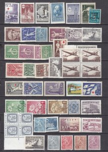 FINLAND^^^x 48  better  MNH/MH and used  collection $$ @ ta472f inl