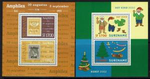 Surinam SC# 1283 and 1288, Mint Never Hinged - Lot 052117