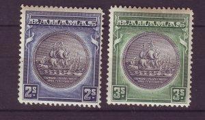 J24097 JLstamps 1931-6 bahamas mh #90-1 ships