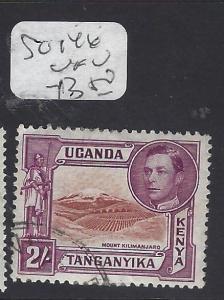 KENYA,UGANDA ,TANGANYIKA (P1710B)  KGVI   2/-  SG 146   VFU