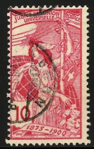 Switzerland UPU 1900 Scott# 99 Used (solid value #)