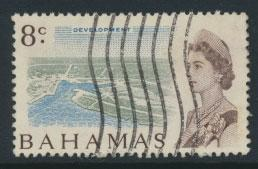 Bahamas  SG 300 SC# 257 Used  Decimal Currency 1967