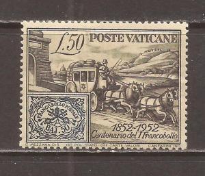 Vatican scott #155 m/h stock # N4610