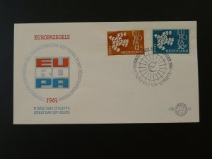 Europa Cept 1961 FDC Netherlands 79766