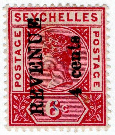 (I.B) Seychelles Revenue : Internal Revenue 4c on 6c OP