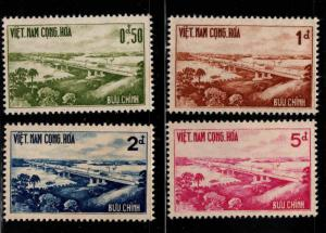 South Vietnam Scott 166-169 MH* Highway Bridge set