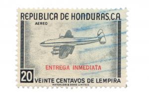 HONDURAS 1956. SCOTT: CE2. USED.