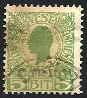 Danish West Indies Scott# 31 Used