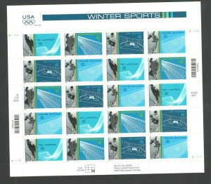 3552-55a Winter Olympics Sheet Of 20 Mint/nh Selling At Face