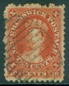 EDW1949SELL : NEW BRUNSWICK 1860 SG #17 Very Fine, Used. Well centered Cat £75