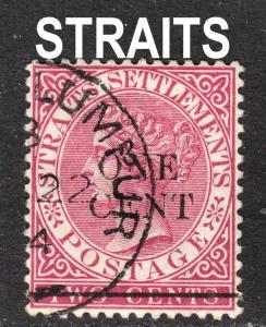 Malaya Straits Settlements Scott 77   F to VF used.