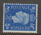 GB George VI  SG 466a  light mountd Mint wmk sideways