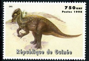 Guinea 1998 DINOSAURS 1 value Perforated Mint (NH)