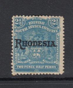 Rhodesia, Sc 85 (SG 103), MHR