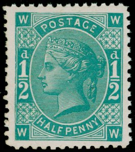 ½d blue-green, NH MINT. 1880 PERKINS BACON TENDER ESSAY.