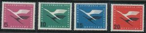 Germany C61-C64 MNH (1955)