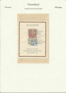 german democratic republic 1969 stamps page ref 18720