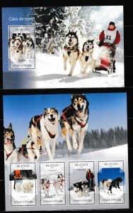 Sao Tome and Principe - DOGS - Set + S.S. - MNH